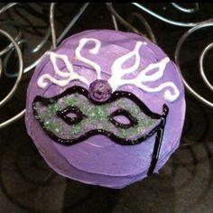 Masquerade cupcake I made