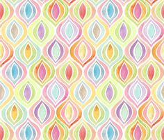 Bargello Flight Formation fabric by kayajoy for sale on Spoonflower - custom fabric, wallpaper and wall decals