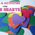 Paper Hearts - Crafts & Activities