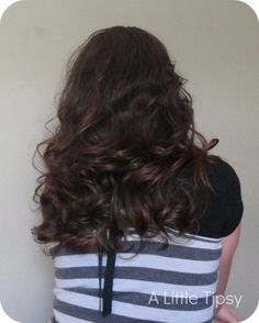 Hairstyles For Short Hair Without Using Heat : hair without heat using a headband more curls hair beauty hair hair ...