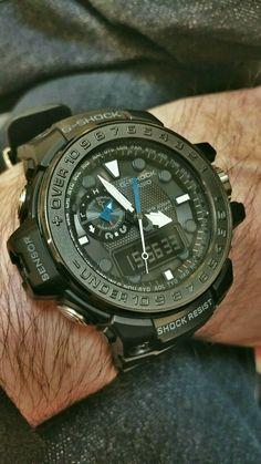 G-SHOCK Gulfmaster GWN-1000 G Shock Watches Mens, Diesel Watches For Men, Fine Watches, Luxury Watches For Men, Amazing Watches, Cool Watches, Casio Vintage, G Shock Mudmaster, Tactical Watch