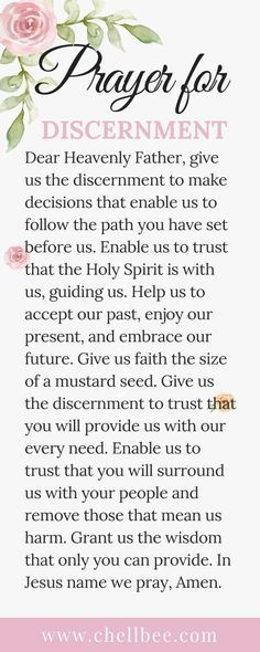 Let's Pray for Discernment | Morning Coffee ☕ with Chellbee
