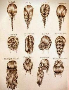 unique braid sfor short hair tutorials - Google Search