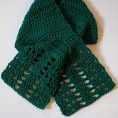 Dannette « The Yarn Box, keyhole scarf freebie: thanks so xox