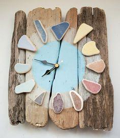 beautiful wood clock | Wall clock made of wood – fantastic examples!