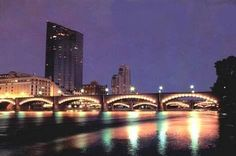 Grand Rapids, MI  Great city to visit! Very clean, young and vibrant.