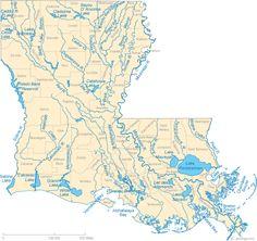 Rescue Alert Of California Helps Keep Seniors In Louisiana Safe - Map of louisiana parishes