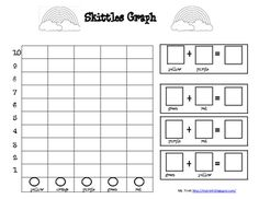 skittles bar graphing bar graphs math and students. Black Bedroom Furniture Sets. Home Design Ideas