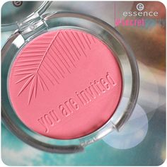 """our new #secretparty trend edition blush """"01 pink up your life"""" #essence #cosmetics #trendedition #blush #pink #beauty #makeup #summer #party #rouge"""