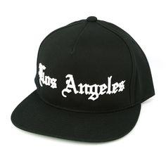 4779c593fa8 Old English Los Angeles Black Black Snapback