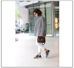 Jacket, Mybestfriends  Pants, Isabel Marant for H&M  Sneakers, Nike  Bag, Louise Vuitton