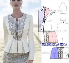 Amazing Sewing Patterns Clone Your Clothes Ideas. Enchanting Sewing Patterns Clone Your Clothes Ideas. Sewing Patterns Free, Clothing Patterns, Dress Patterns, Sewing Dress, Sewing Clothes, Fashion Sewing, Diy Fashion, Do It Yourself Fashion, Jacket Pattern