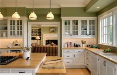 Kitchen Paint Colors: 10 Handsome Hues for Hardworking Spaces - Moss ...