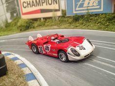 ACAR-RACING FOREST HILL: Custom Slot Car hO - Alfa Romeo T33/3 #36 24h Le M...