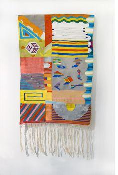 Hannah Waldron weavings