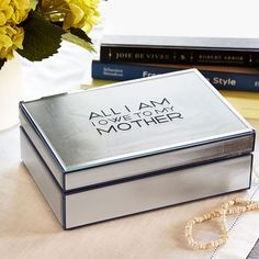 To keep your sterling silver jewelry sparkling, make sure to always store it properly. We love this amazing velvet-lined jewelry box by @potterybarn. #silver #sterlingsilver #jewelry #jewelrytip #sterlingsilverjewelry