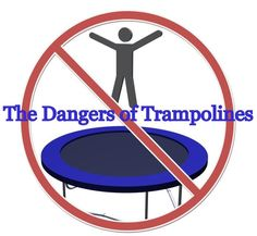 The dangers of trampolines. The Consumer Product Safety Commission (CPSC) estimates that in 2010 there were 92,159 hospital emergency room-treated injuries associated with trampolines. The risks are so great that the American Academy of Pediatrics recommends that parents never purchase a home trampoline or allow children to use home trampolines.