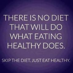 No diet will ever work. Change your eating habits!