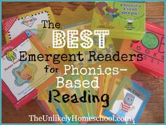 The BEST Emergent Readers for Phonics-Based Reading