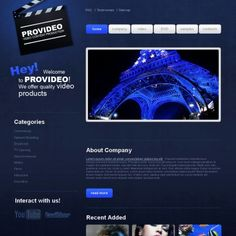 Video Lab Premium Moto CMS HTML Theme