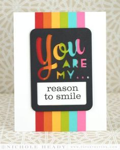 Image result for you brighten my day card rainbow