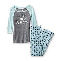 Dream Out Loud by Selena Gomez Junior's Pajama Top & Pants Peace Signs & Doves