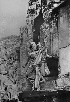 Cambodian dancer.