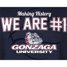 Gonzaga men's basketball # 1