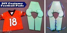 blue i style: {seasonal style} Football Brothers Halloween Costume + 88 More Handmade Costume Ideas!