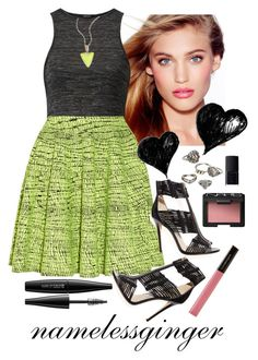 start me up by namelessginger on Polyvore featuring polyvore fashion style Kenzo Jimmy Choo Mudd Alexis Bittar MAKE UP FOR EVER NARS Cosmetics Illamasqua Charlotte Tilbury clothing