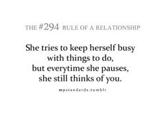 I think of you too. Corny Love Quotes, Sad Quotes, Words Quotes, Quotes To Live By, Sayings, Relationship Rules, Relationships Love, Prison Quotes, Love Rules