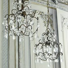 Chantal Crystal Drop Chandelier - Vintage Glamour - Themes - New For Spring Chandelier Bedroom, Chandelier Ceiling Lights, Ceiling Fixtures, Kids Room Lighting, Bedroom Lighting, Chantal, Lighting Suppliers, Ceiling Shades, Large Chandeliers