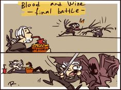 The Witcher 3, doodles 83 by Ayej.deviantart.com on @DeviantArt