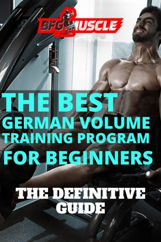 Our Guide here at BFG Muscle, on the Best German Volume Training Program for Beginners (GVT Workout), is perfect for those weight training enthusiasts looking for a solid bodybuilding workout to help Weight Training Workouts, Body Weight Training, Weight Training Programs, Strength Training Program, Gym Workouts, Gym Plan For Women, German Volume Training, Gym Workout Chart, Workout Diet
