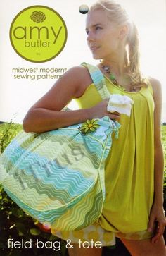 Amy Butler Sewing Pattern Field Bag and Tote  FREE by iTrust, $9.32