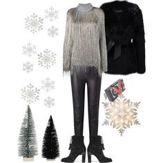 Happy new years by zettirik on Polyvore featuring polyvore fashion style Valentino Balmain Somerset by Alice Temperley Michael Kors GE clothing