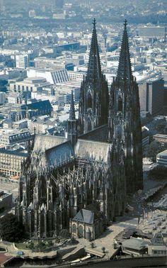 Cattedrale gotica di #Colonia, Germania