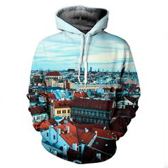 Europe Hoodie by Yo Vogue Clothing - This beautiful hoodie is made with an extremely soft garment using HD Photographic Printing Technology. The fine mixture of polyester and cotton allow us to print high definition images and create unique, fresh and innovative products. Just $69.95 --> yovogueclothing.com <--