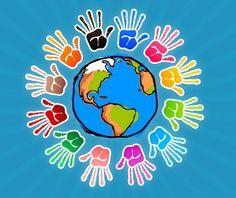 classroom door themes around the world | World Wallpaper Decoration for Preschool and Kindergarten Classroom ...