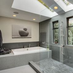 Spaces Grey Tile Design, Pictures, Remodel, Decor and Ideas - page 28