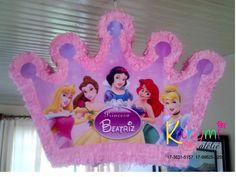 Pinhata Princesas #princesspinata #pinhatacoroaprincesas