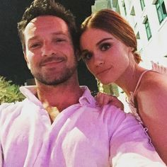 Ian Bohen and the gorgeous Holland Roden taking selfie together