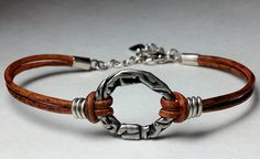 Karma bracelet made by Dizzy Bees, find Dizzy Bees on Facebook