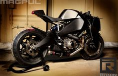 Buell 1125R Magpul Ronin ~ Return of the Cafe Racers
