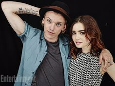 Lily Collins, Jamie Campbell Bower, ...The Mortal Instruments: City of Bones - Comic Con 2013