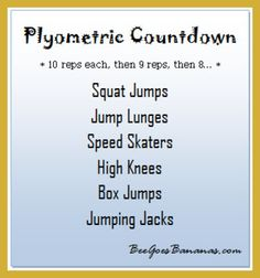 3 Plyometric Workout for Beginners That Burn Fat Fast Polymetric Workout, Plyo Workouts, Tabata, Body Workouts, Workout Ball, Agility Workouts, Training Workouts, Circuit Training, Fitness Exercises