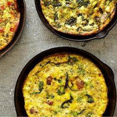 The Only Frittata Recipe You'll Ever Need. Features a freestyle no-flip baked frittata recipe and ideas for customized add-ins. ♥ Epicurious