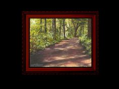 Learn How To Paint A Country Road In Acrylic