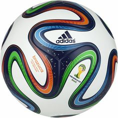 Brazuca Top Replique Ball, White / Night Blue / Multicolor, zoom