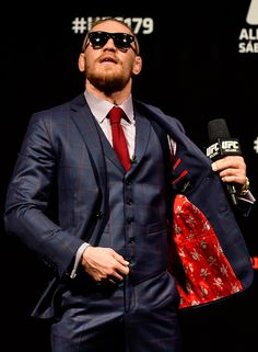 conor mcgregor suits - Google Search